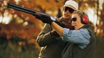 Clay pigeon shooting for beginners