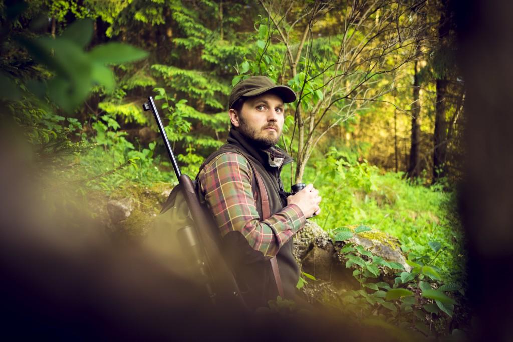 rabbit shooting